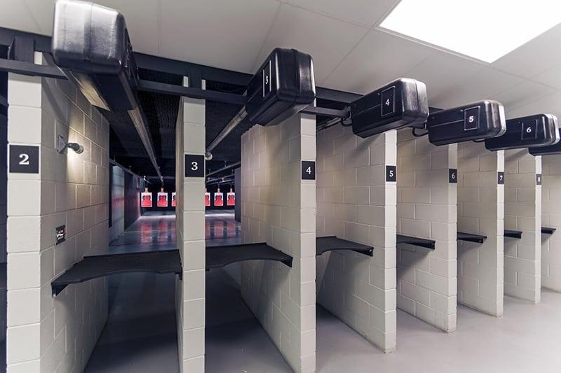pistol range left