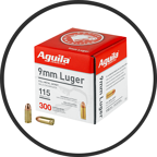 AGUILA 640420012001 300 ROUNDS 9MM ON SALE
