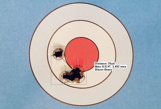 cz pistol target