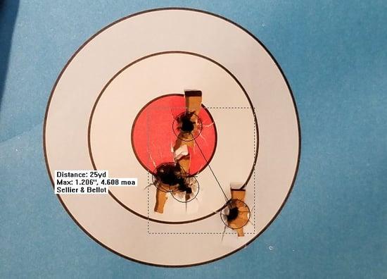 good grouping target
