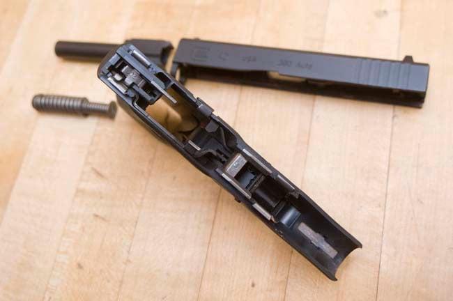 glock 42 frame
