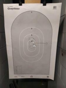 shotgun patterning 21 feet