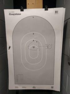 shotgun patterning 30 feet