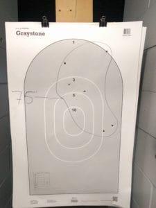 shotgun patterning 75 feet