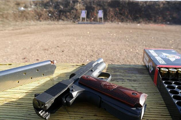 Springfield 1911A1 bench