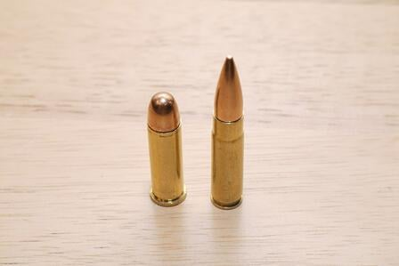FMJ bullets, c Nick Leghorn