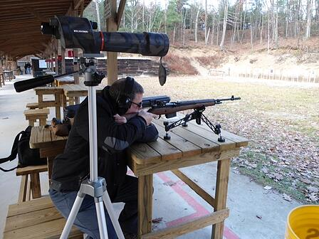 bench shooting springfield m1a