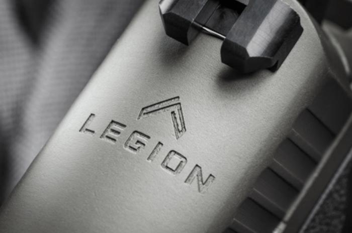 SIG SAUER P2229 Legion Series sight logo