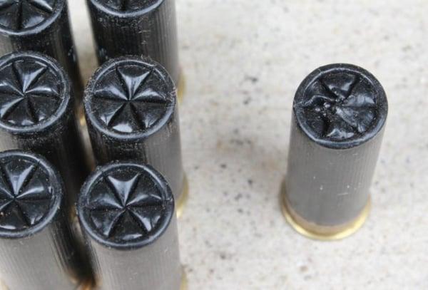 shotgun shell close up