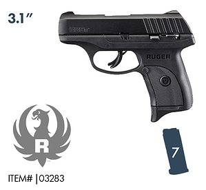 RUGER EC9S WITH SAFETY SALE