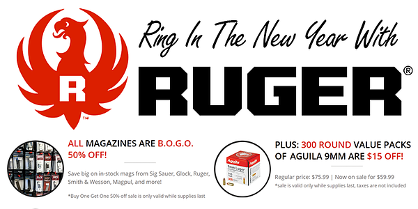 RUGER SALE AT MAXON SHOOTERS featured