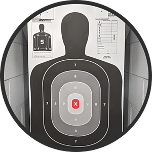 b27 target for concealed carry qualification