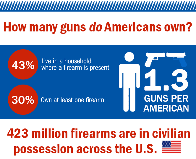 guns in america infographic