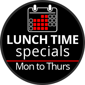 lunch time range specials
