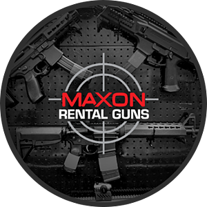 Maxon Shooters Gun Rental Wall