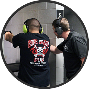 maxon shooters instructor and student