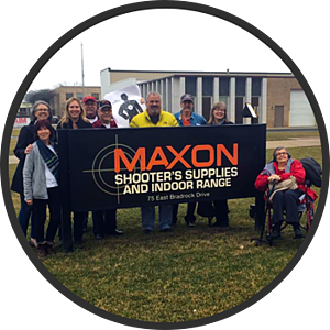 family birthday party at maxon